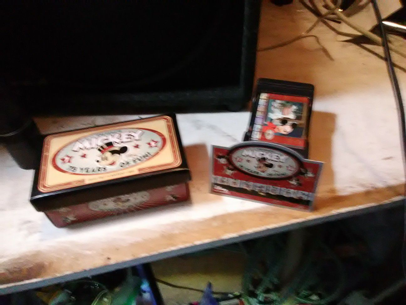 75 years, Mickey mouse 2004 upper deck card set