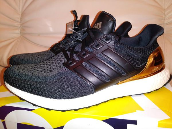 afdc8919403 Adidas UltraBoost 2.0 Limited Gold Medal Size 11.5 for Sale in San ...