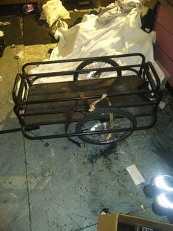 Action Bike Trailer durable and built to carry everything. Make a reasonable offer! please look into the value of the trailer before your offer Thumbnail