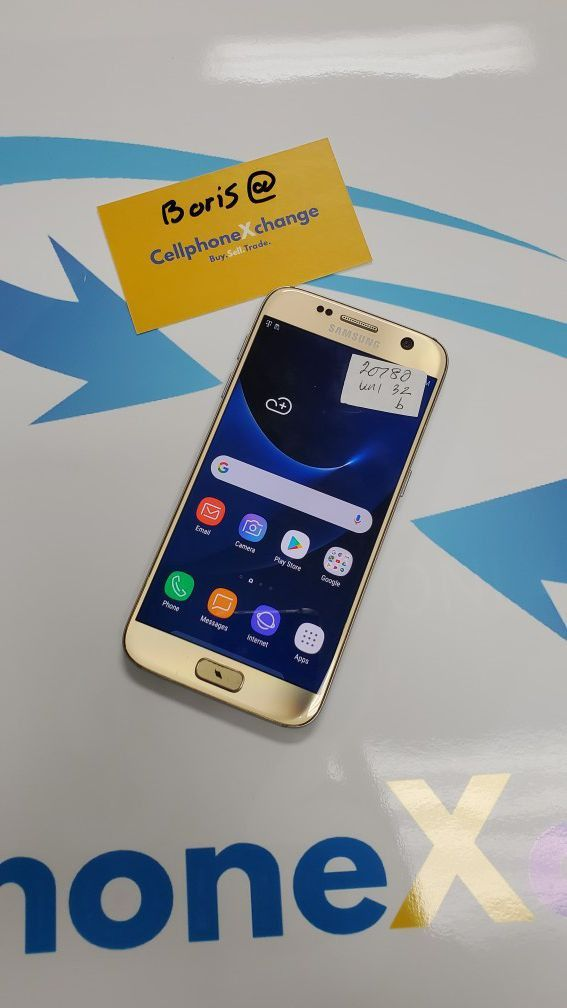 Galaxy S7 Unlocked 32GB *COMPATIBLE with all CARRIERS