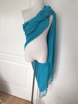 Aqua blue scarf for Sale in Naperville, IL