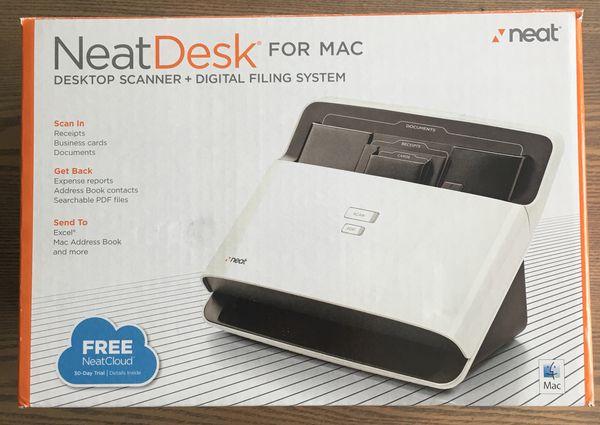 Neatdesk desktop scanner digital filing system for mac computer neatdesk desktop scanner digital filing system for mac computer equipment in delray beach fl offerup reheart Choice Image