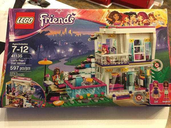 Lego Friends 41135 Livis Pop Star House Retired Set For Sale In