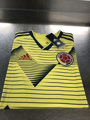 Photo NEW AUTHENTIC ADIDAS COLUMBIA HOME SOCCER JERSEY SIZE/YOUTH XLARGE BOYS