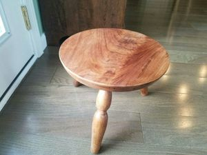 Antique walnut milking stool. for Sale in Denver, CO
