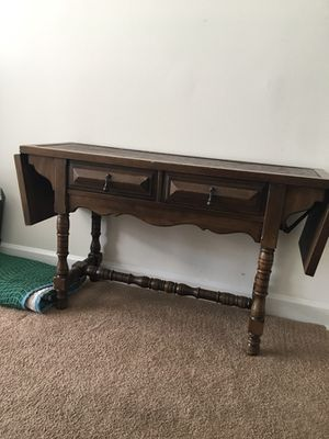 Sofa or Buffet Table / Stanley. / solid wood/ dovetail joins for Sale in VA, US