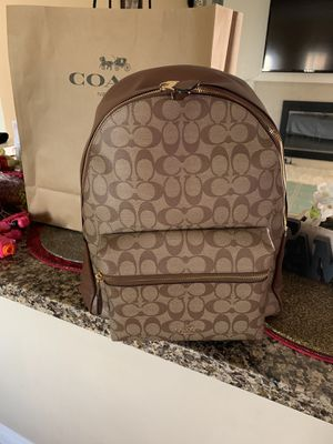 Photo Authentic coach backpack original super cute no low offers 👀👀