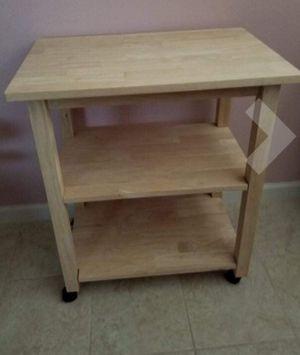 New!! Microwave cart, kitchen storage cart, rolling kitchen cart, kitchen island for Sale in Tempe, AZ