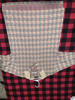 Burberry Plaid Polo Shirt Thumbnail