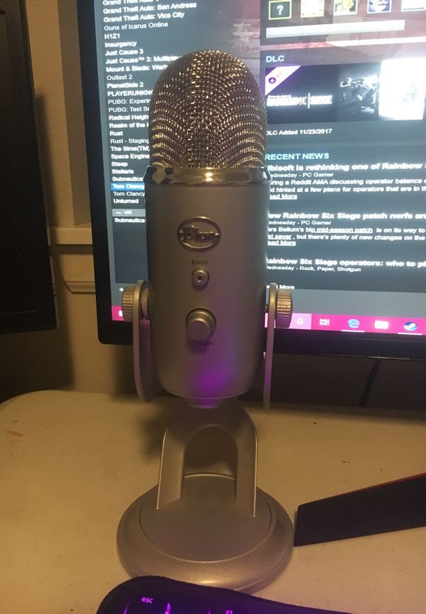 Blue yeti mic for Sale in Lakewood, WA - OfferUp