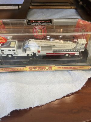 Photo SEAGRAVE limited edition code 3 Aerial ladder truck