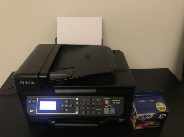 Epson Workforce 2630 Printer/Fax/Scanner for Sale in Gaithersburg, MD -  OfferUp