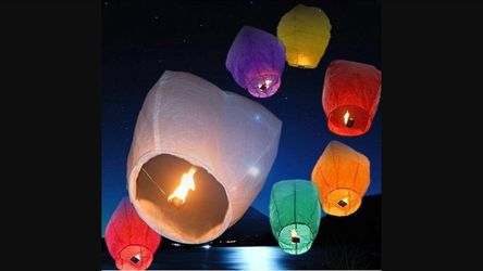 Sky lanterns Thumbnail