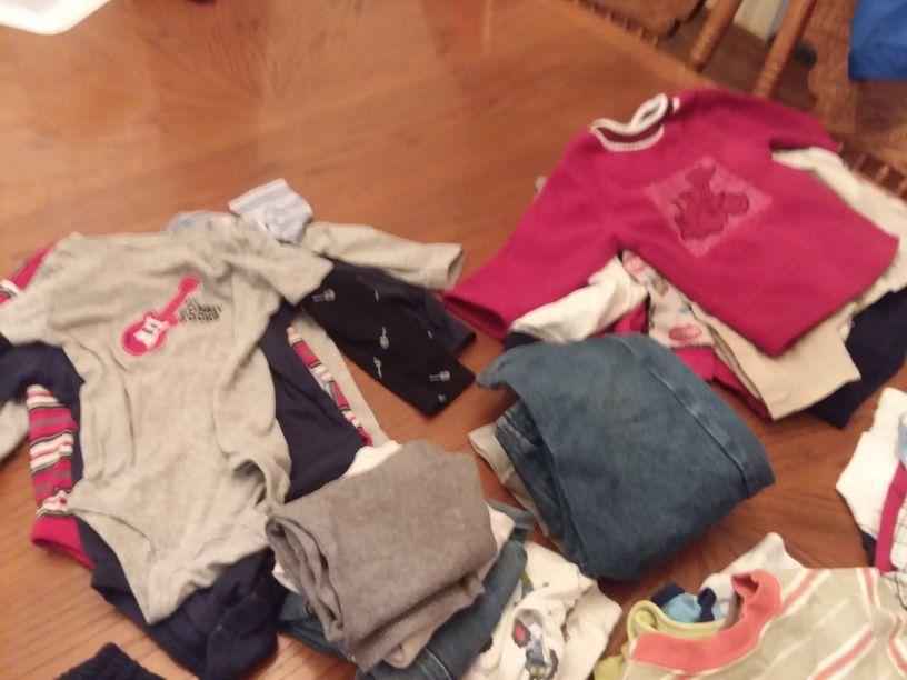 Boys Clothes Sizes 18 Months