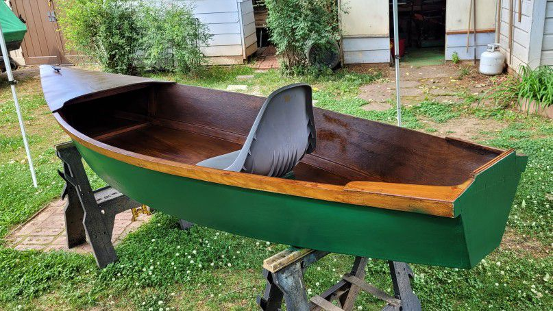 Photo Boat, Hand Crafted