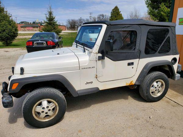 1999 Jeep Wrangler For Sale >> 1999 Jeep Wrangler For Sale In Bellevue Wi Offerup