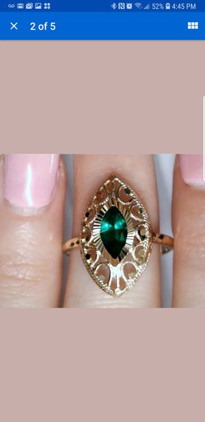 14kt gold BEAUTIFUL tourmaline ring for Sale in Laytonsville, MD