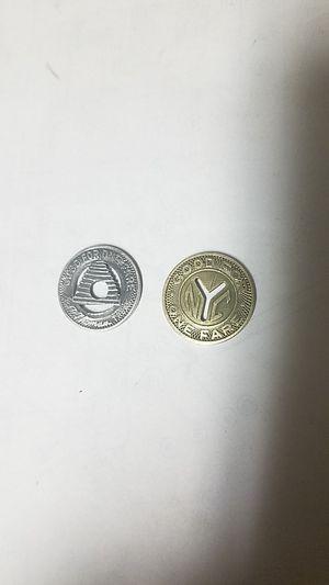 old bus fare tokens for Sale in West Jordan, UT