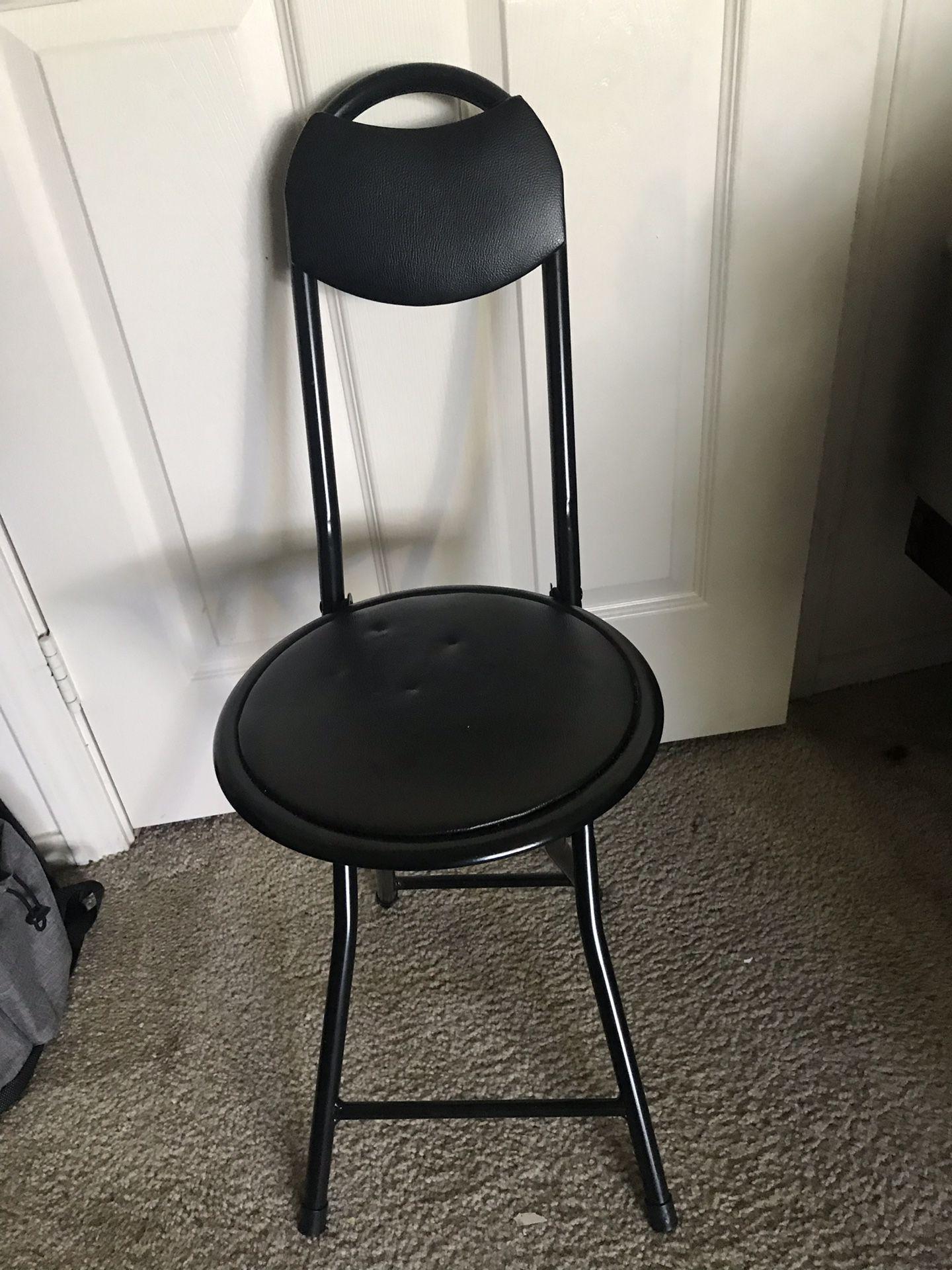 Cute Small Black Chair