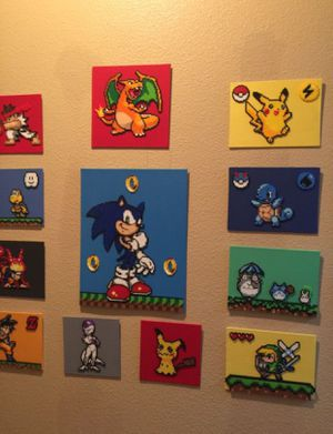 Perler peads canvases for Sale in Winchester, CA