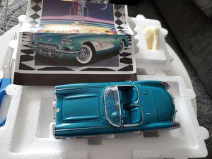 Photo Franklin Mint 1960 Corvette 1:24