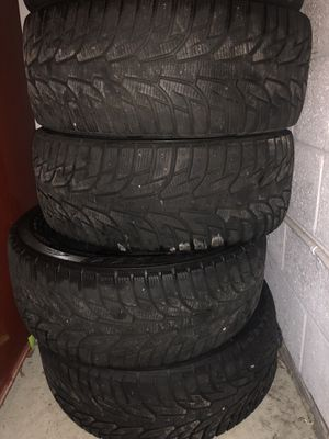 4 Hankook Winter I Pike RS 100T - Winter Tires for Sale in Rockville, MD