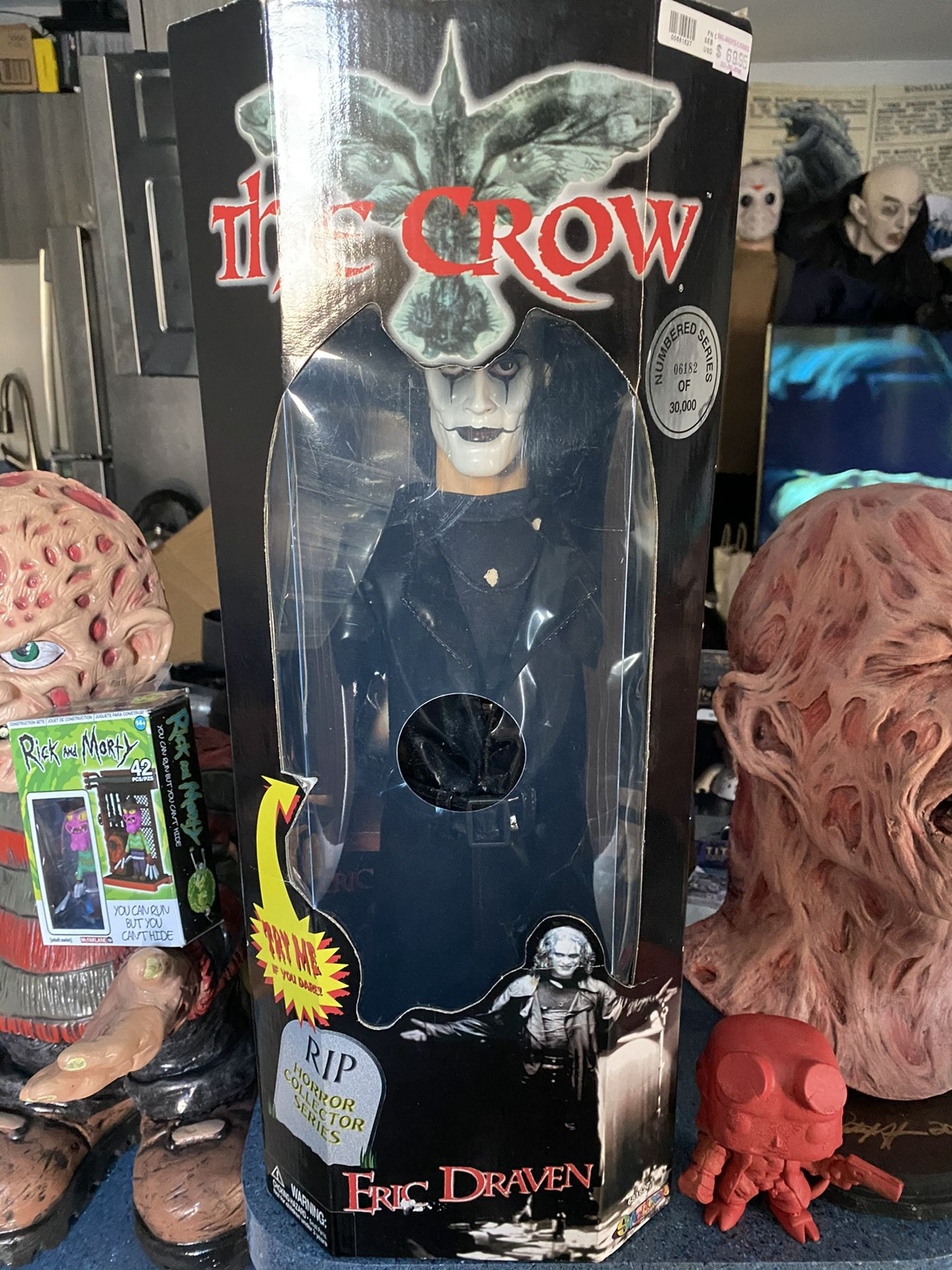The Crow - Eric Draven... Spencer's Gifts Fig  Limited