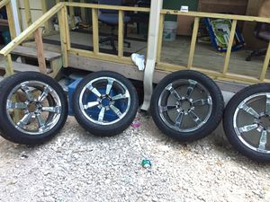 "22"" rims meat tires for Sale in Austin, TX"