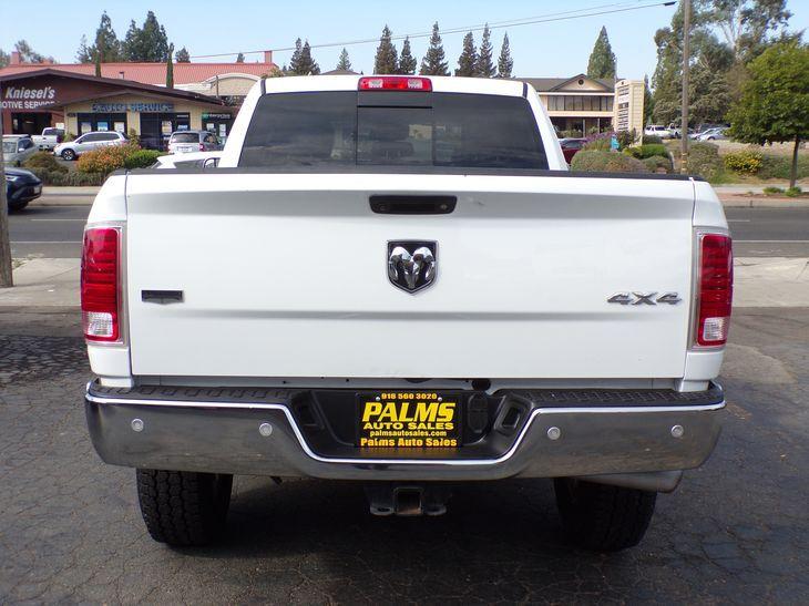 2017 Ram 2500 4x4 Diesel