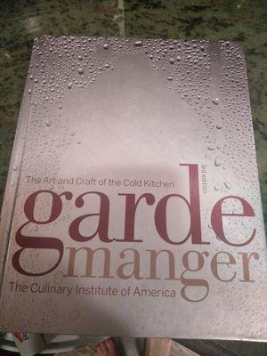 Garde Manger Cookbook for Sale in Denver, CO