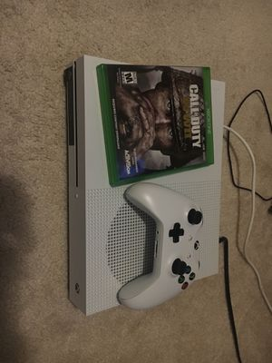 Xbox One S w/ CoD WWii, controller for Sale in Silver Spring, MD