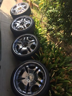 "21"" LOWENHART LD1 on DUNLOP ZRated tires for Sale in San Diego, CA"