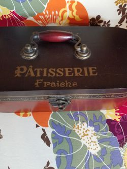 Beautiful French Wooden Storage Box ONLY $8!!!! Thumbnail