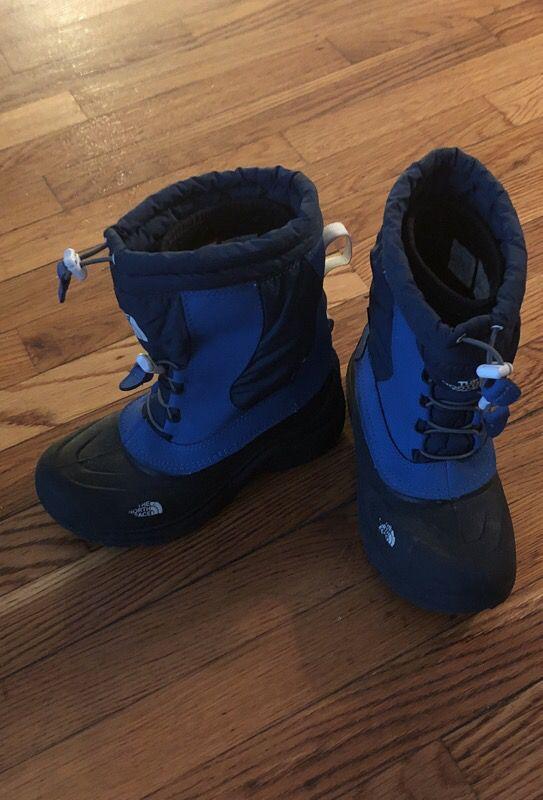 Boy NorthFace Boots Size3