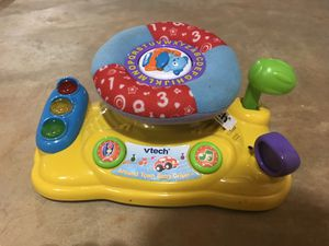 Vtech steering wheel toy for Sale in Warrenton, VA