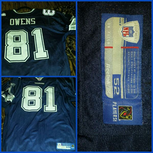 reputable site 0fca3 4826b Dallas Cowboys NFL Authentic Terrell Owens #81 Jersey for Sale in  Montebello, CA - OfferUp