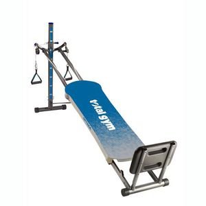 Total Gym Optima Full Body Workout Home Fitness Folding Exercise Machine, Blue for Sale in Plainfield, IN