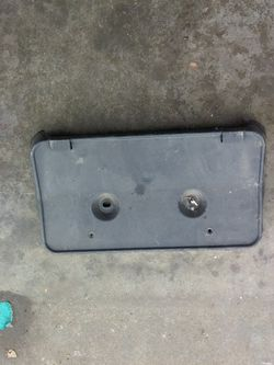 Ford Fusion Front Bumper Cover License Plate Bracket  Thumbnail
