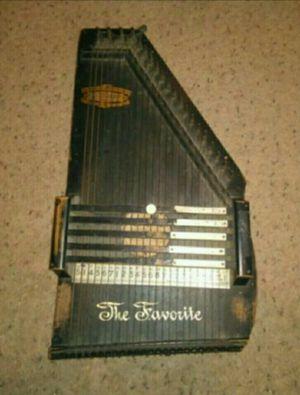 "1890's Zimmerman Original Autoharp ""The Favorite"" 5 Chords / 23 Strings for Sale in Laveen Village, AZ"