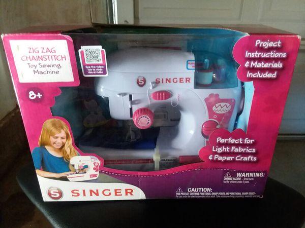 Kids Sewing Machine Arts Crafts In Victorville CA OfferUp Impressive Singer Sewing Machine For Kids