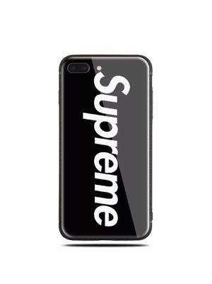 Supreme Glass case IPhone 7 Plus or 8 Plus for Sale in Gaithersburg, MD