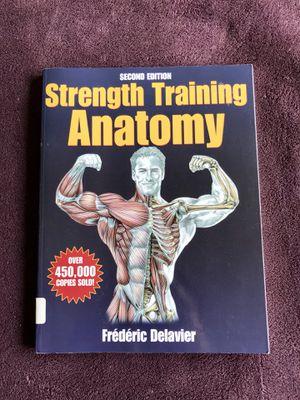Strength Training Anatomy Book for Sale in Haymarket, VA