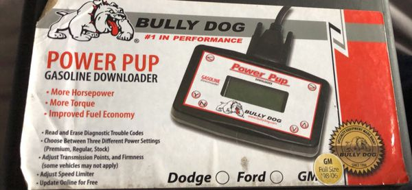 bully dog power pup gasoline downloader