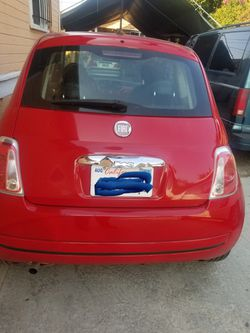 2012 Fiat 500 Thumbnail