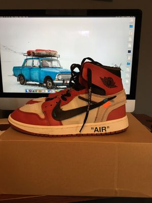 Off white Jordan 1 size 9.5 with defects for Sale in Lake Ridge, VA