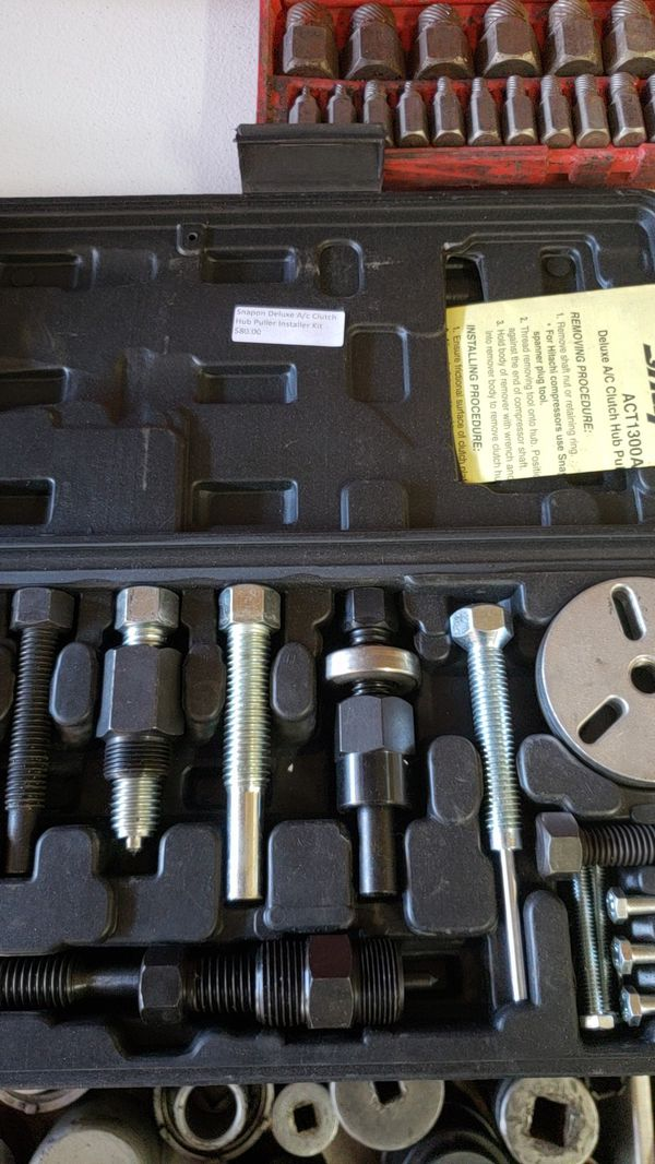 Snap on AC clutch hub puller kit for Sale in Chandler, AZ - OfferUp