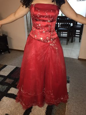 White Prombridal Dress For Sale In Green Bay Wi Offerup