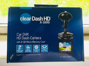 Car Dash Cam With 8GB Memory Card/ Night Mode for Sale in Kissimmee, FL