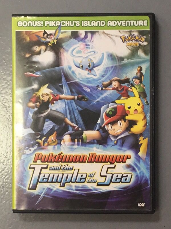 Pokemon Ranger The Temple Of The Sea Dvd For Sale In St Louis