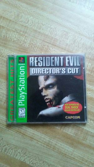 Resident Evil *Director's Cut* for Sale in Kissimmee, FL
